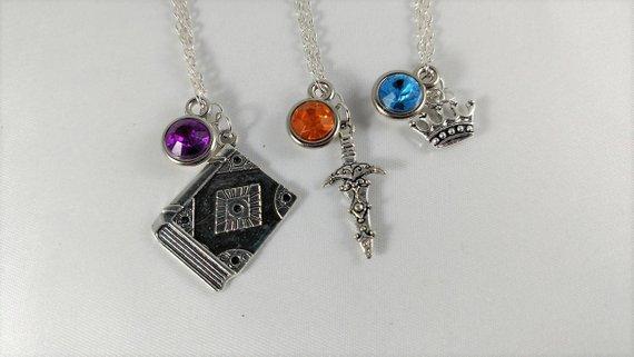 Critical Role Character Inspired Mini Jewel & Charm