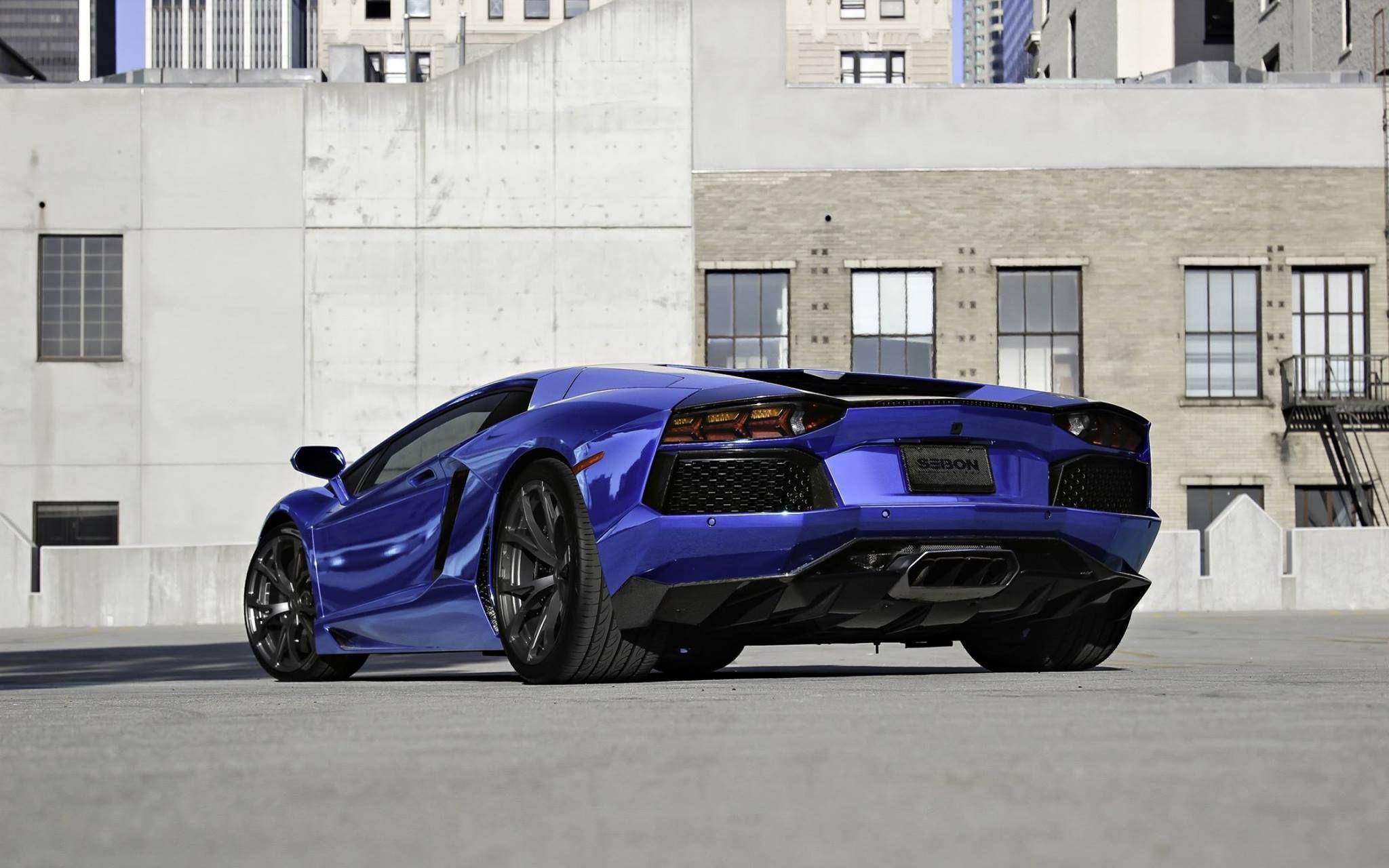 Chrome Indigo And Black Lamborghini Spectacular Sports Cars - Really nice sports cars