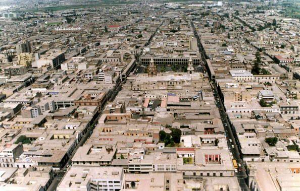 Centro histórico de la ciudad de Arequipa Perú.