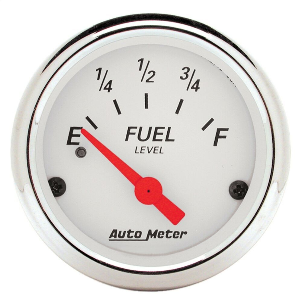 Sponsored Ebay  1317 Autometer 1317 Arctic White Fuel