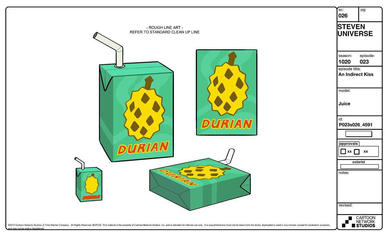 Durian Juice Prop Design Universe Steven Universe
