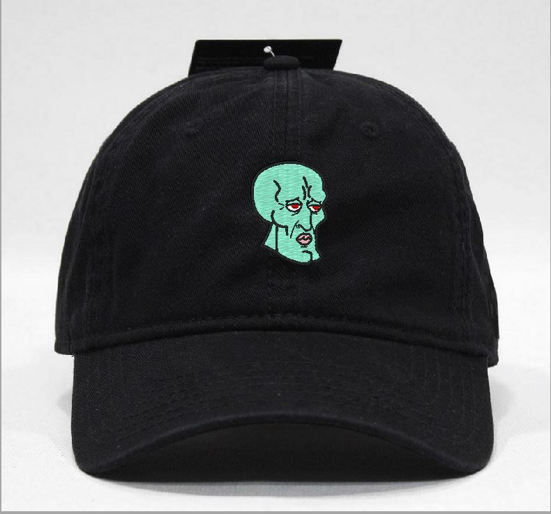handsome face Squidward Hat via Hats 4 U. Click on the image to see more! 2dd4ab6ecb78