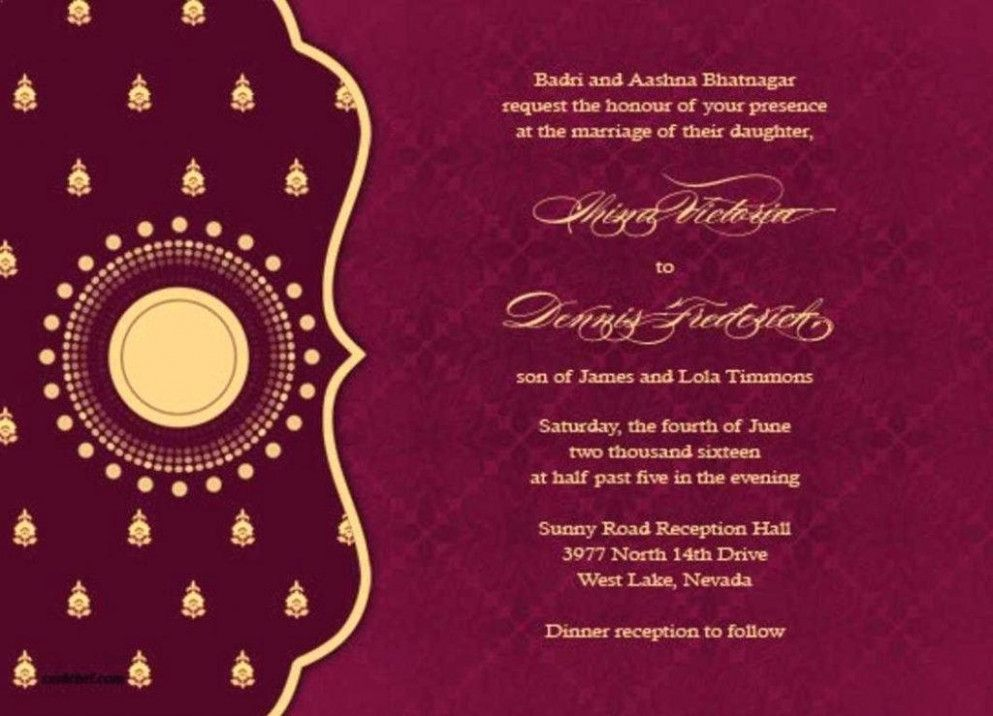 13 Things You Should Know About Indian Wedding Invitation Template Free Download Indian Wed E Card