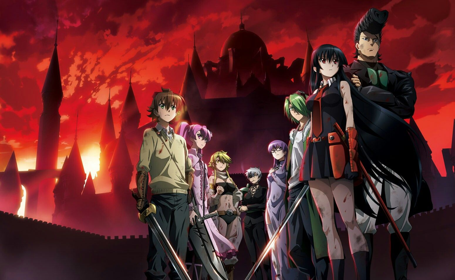 Akame Ga Kill Wallpaper Akame Ga Kill Animal Jokes Netflix