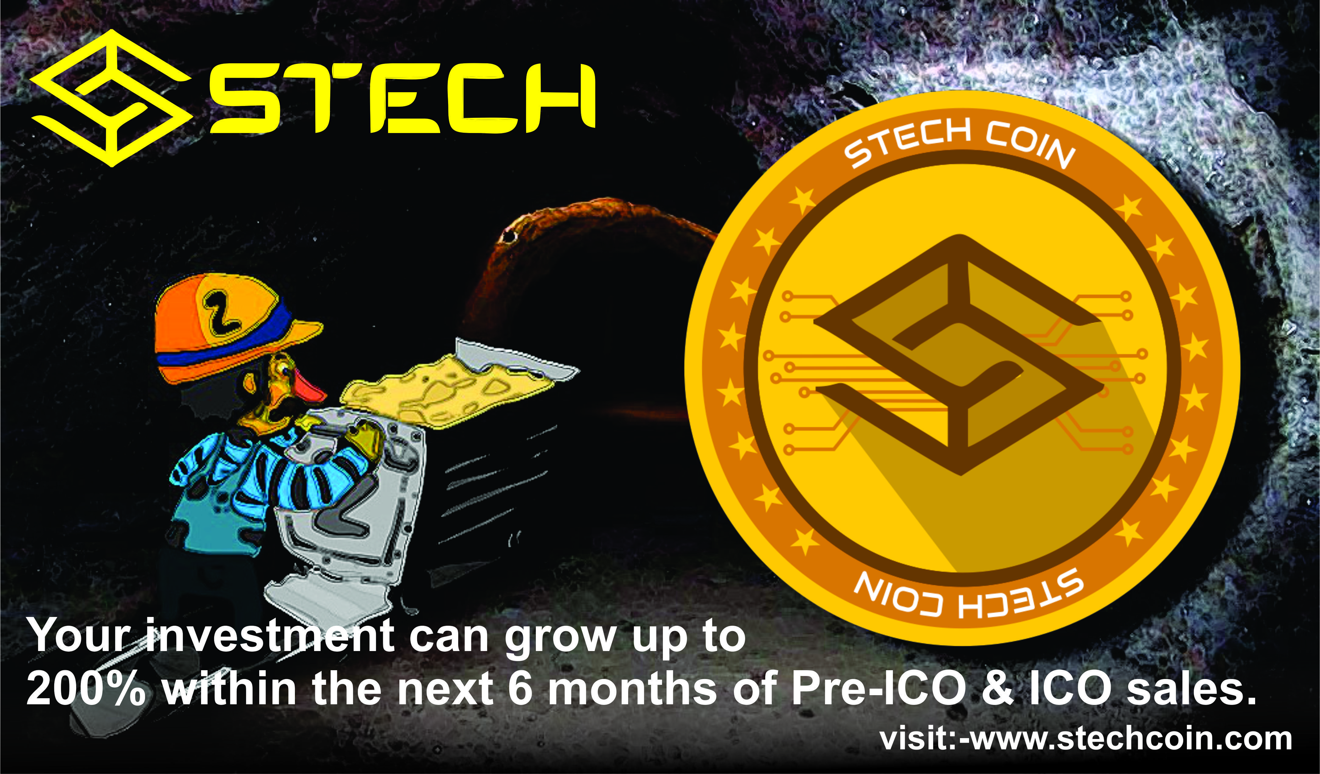 Your Investment Can Grow Up To 200 Within 6 Months Visit Http Www Stechcoin Com Stech Coin Bitcoin Bitcoinnews Swing Trading Cryptocurrency Day Trader