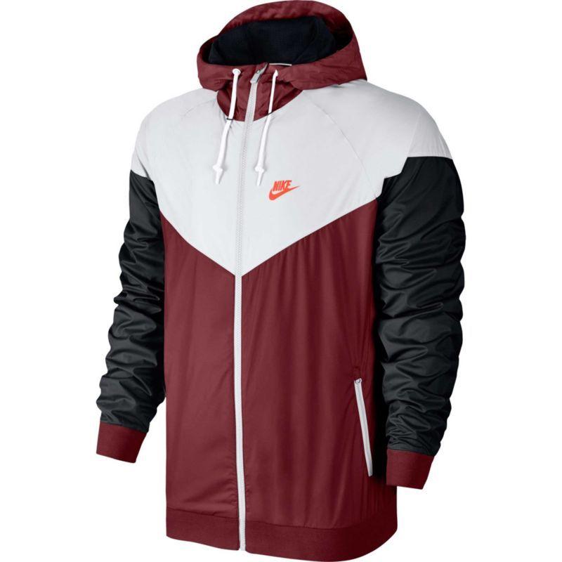 Roshe Exécuter Nike Mens Veste Zip Rouge