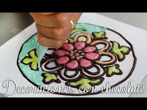9 Tecnicas De Decoracion Con Chocolate Para Decorar Postres Paso A Paso Decoracion Con Chocolate Consejos De Decoracion De Tartas Reposteria Decoracion