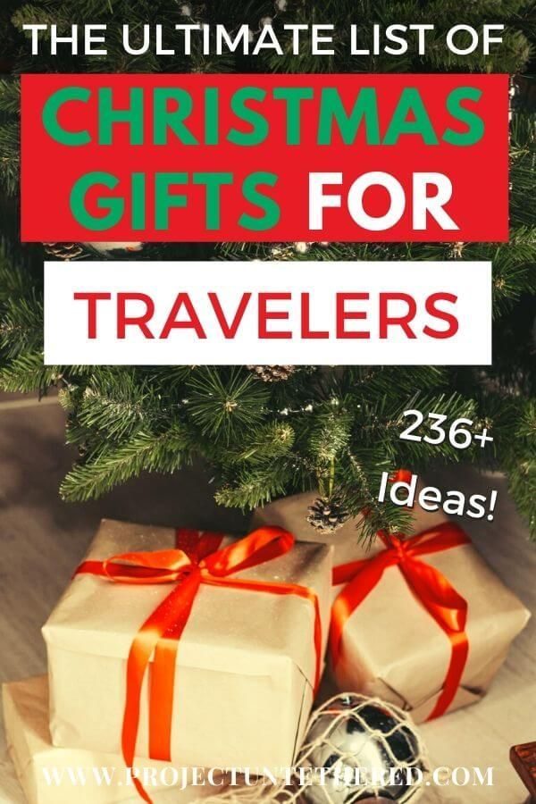 40 Travel Gift Ideas for EVERY Traveler and ANY Budget [2020]