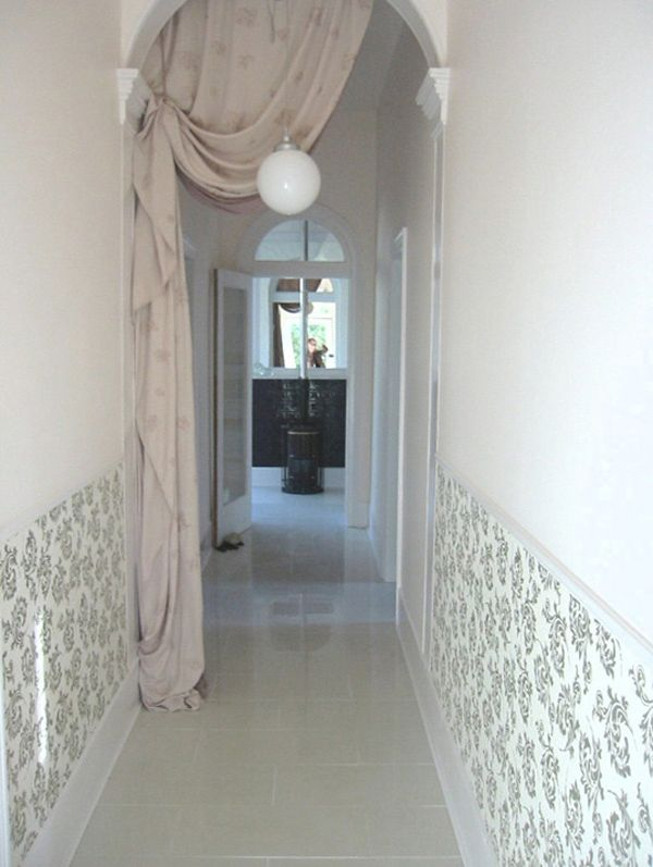 Cool Decorating a Hallway Design Ideas Decorate Long Hallway With Wall Art And Curtain & Cool Decorating a Hallway Design Ideas: Decorate Long Hallway With ...
