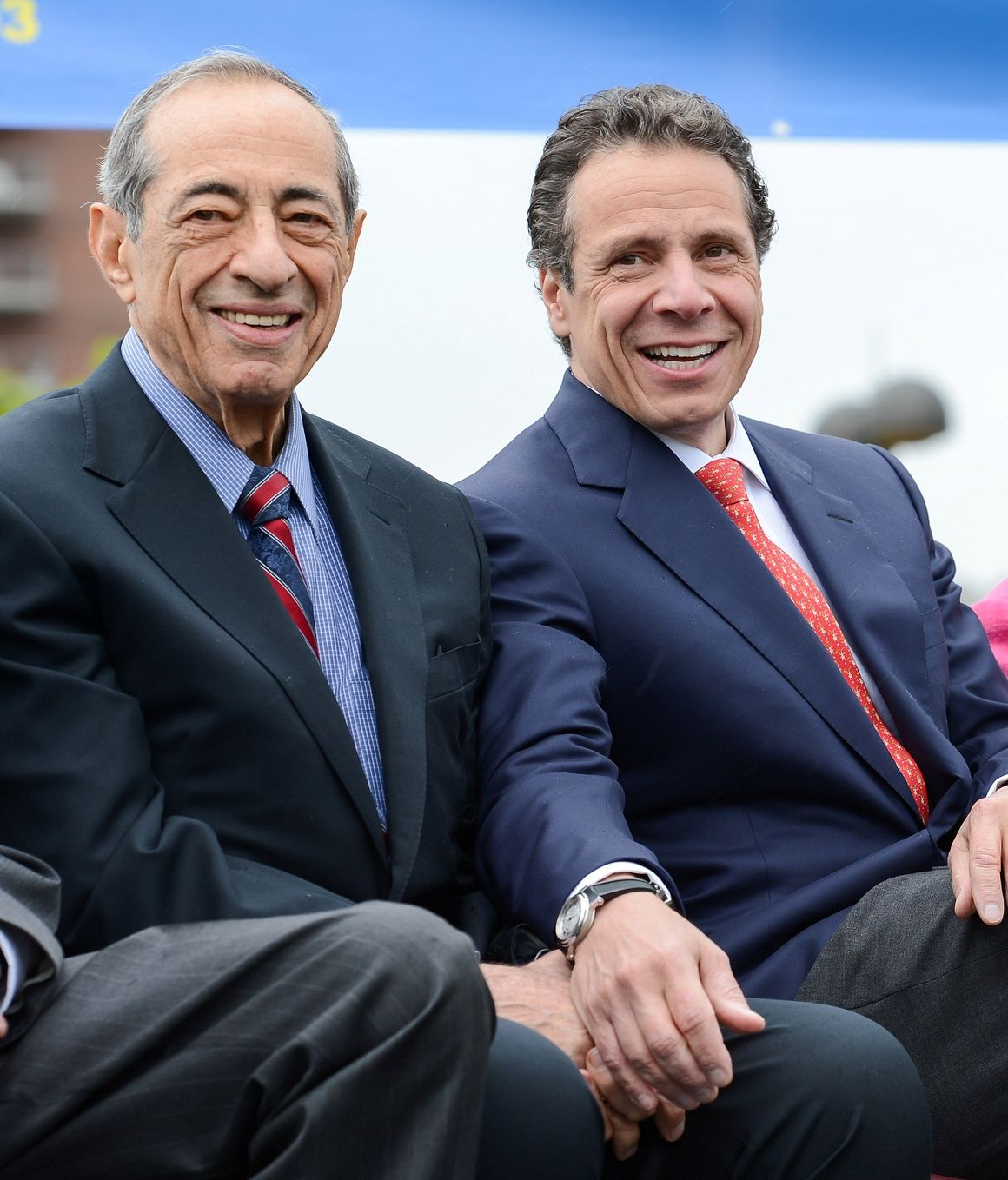 Former New York State Governor Mario Cuomo With Son And Current Governor Andrew Cuomo Remembering Dad Dads My Father