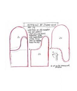 Mittens Pattern Mittens Pattern Sewing Sweater Mittens