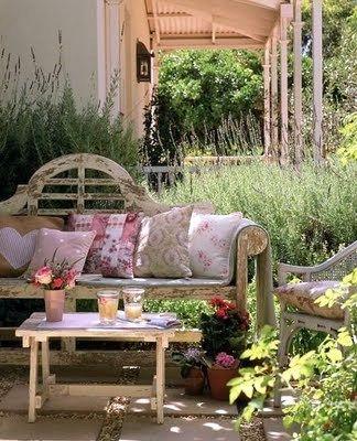 Mi Casa Encantada Jardines Para Soñar Asientos De Jardín