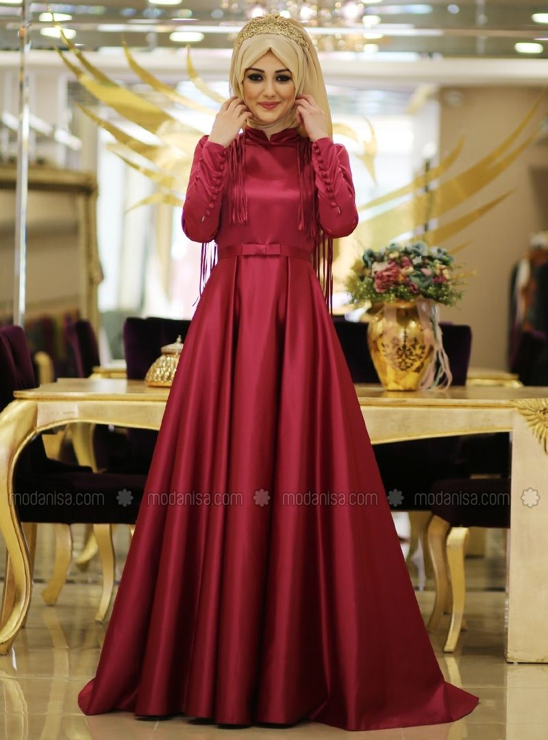 Merve Abiye Fusya Minel Ask Muslim Fashion Outfits Muslim Dress Muslim Evening Dresses