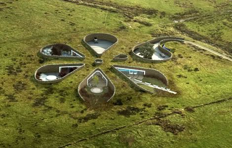 Make Architects. Землянка-цветок