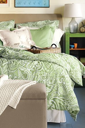 Paisley Bedding From Lands End Paisley Bedding Bedroom Closet