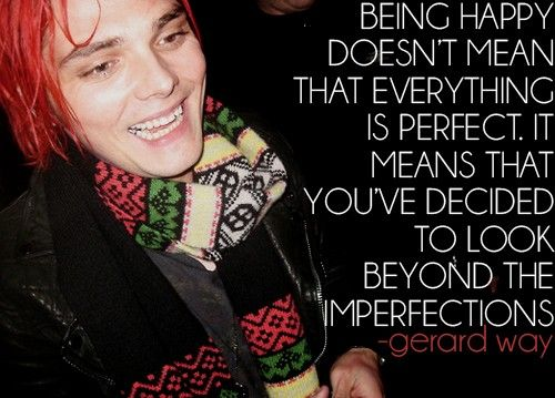 Gerard Way Quotes My Chemical Romance Gerard Way Band Quotes