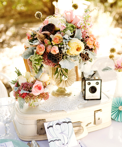 Spring Wedding Reception Ideas: Great Centerpiece For A Spring Or Victorian Themed Wedding
