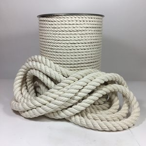 100 Cotton 3 Strand Rope Ropeshop Ca In 2020 Cotton Rope Macrame Supplies Rope Art