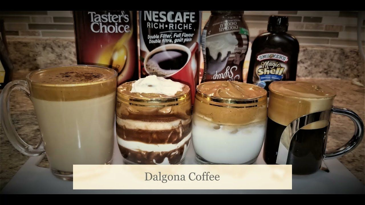 Dalgona Coffee at Home Trending Dalgona Coffee in 2020