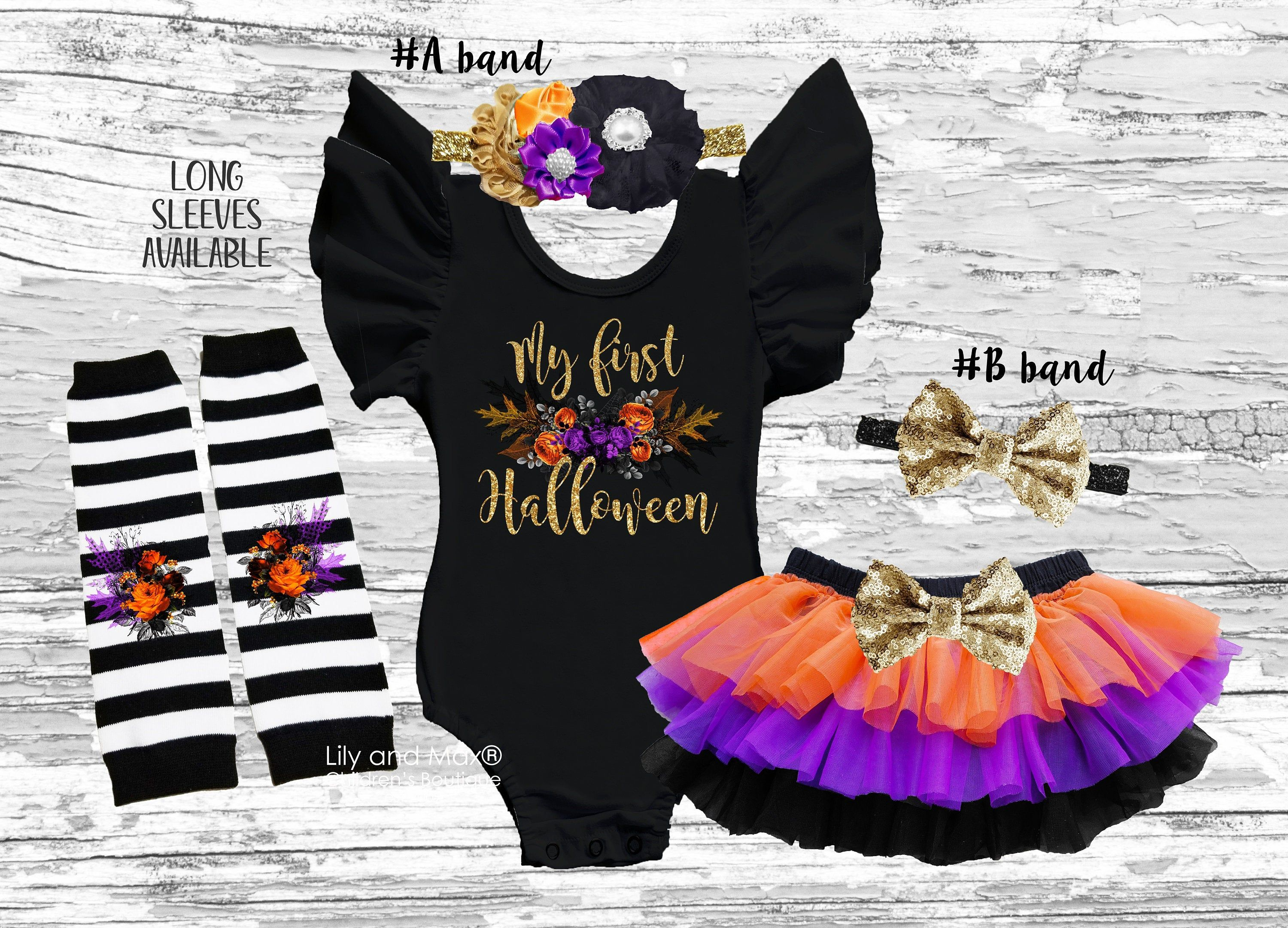 Carter/'s Halloween Baby Girl/'s Cat or Bat Black Glittery Head Wraps