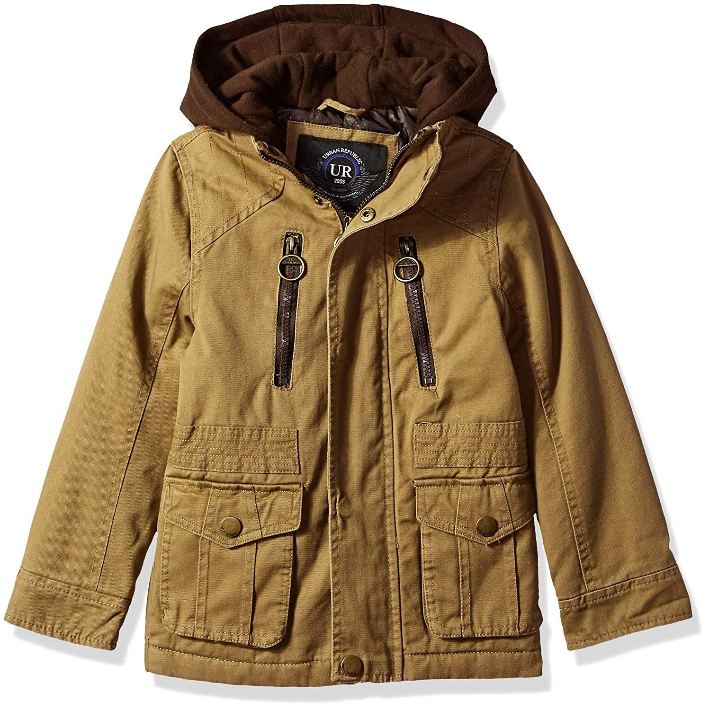 Boys Cotton Twill Jacket Saddle Brown Cr18d93yg2e Boys Clothing Jackets Coats Jackets Jacket Cotton Twill Jacket Twill Jacket Kids Outdoor Clothes [ 1500 x 1497 Pixel ]