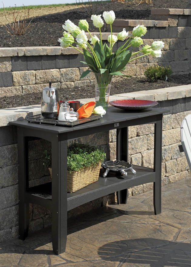 Patio Is Picture Perfect Outdoor Buffet Tables Outdoor Buffet
