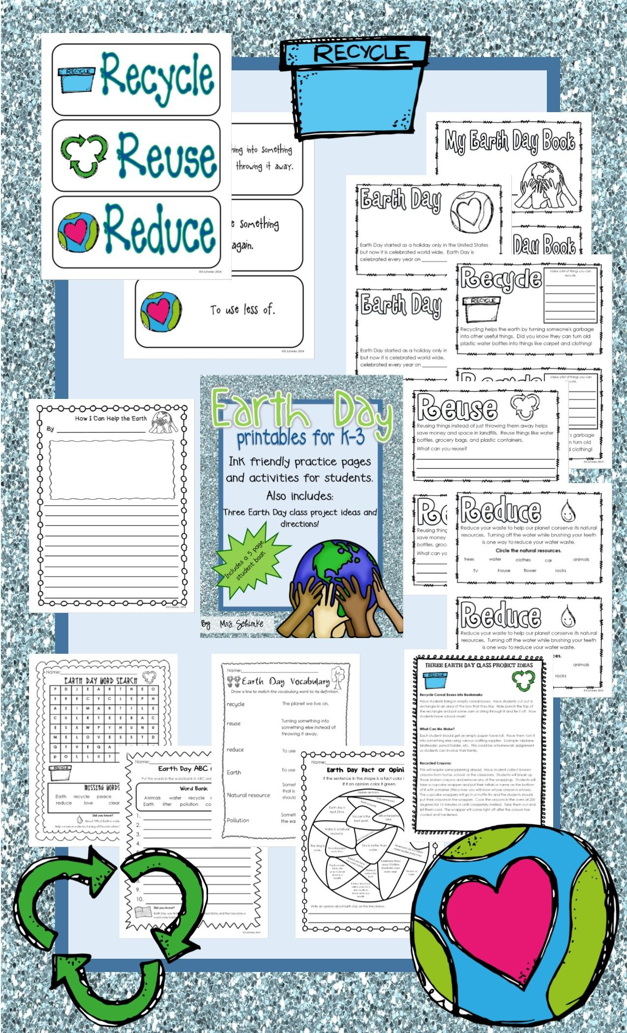 Earth Day Printables For K 3