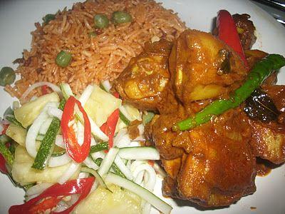 Amie S Little Kitchen Resepi Nasi Tomato Ayam Kari Beriani Makanan India Food Resep Masakan Malaysia