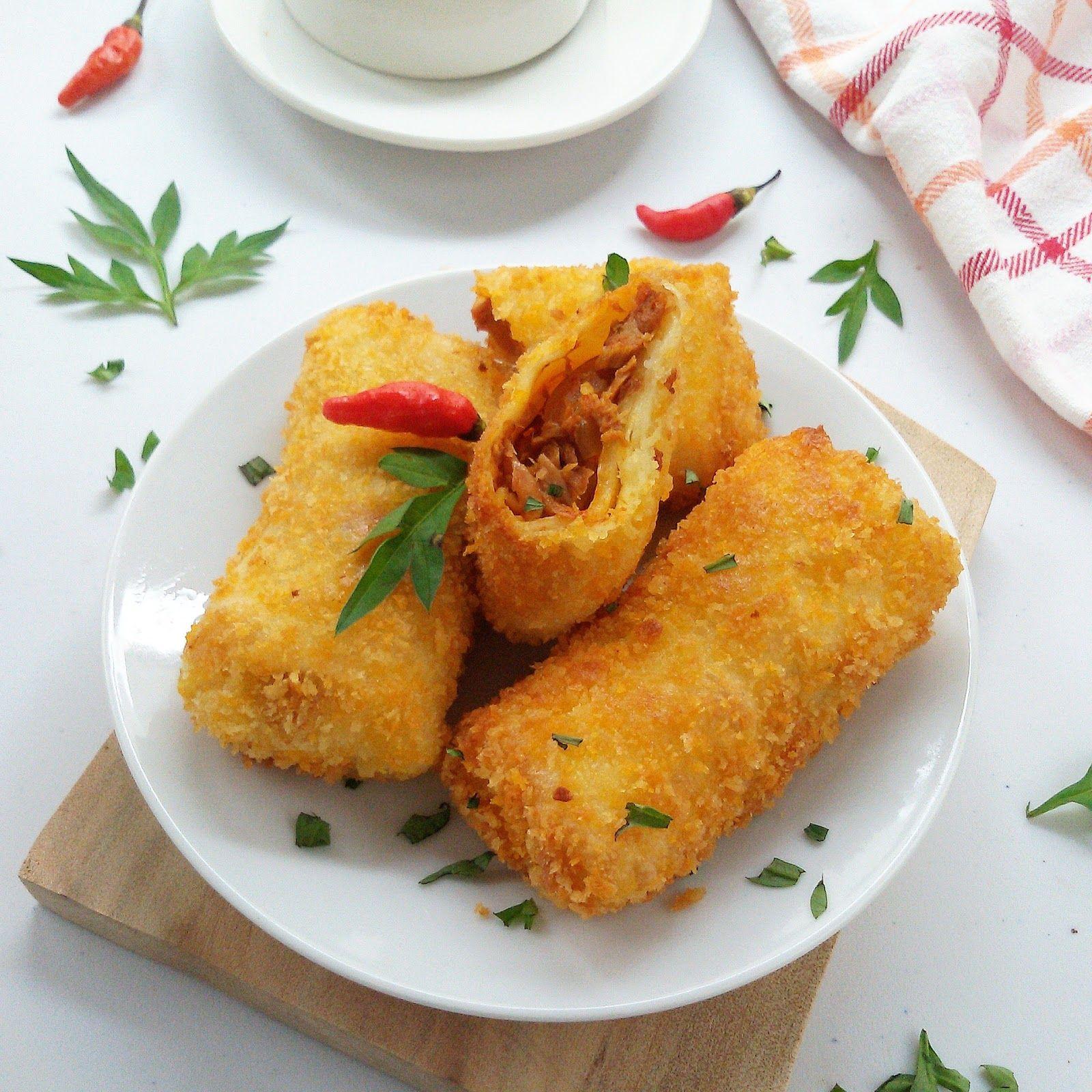 Resep Risoles Mayonaise Makanan Dan Minuman Makanan