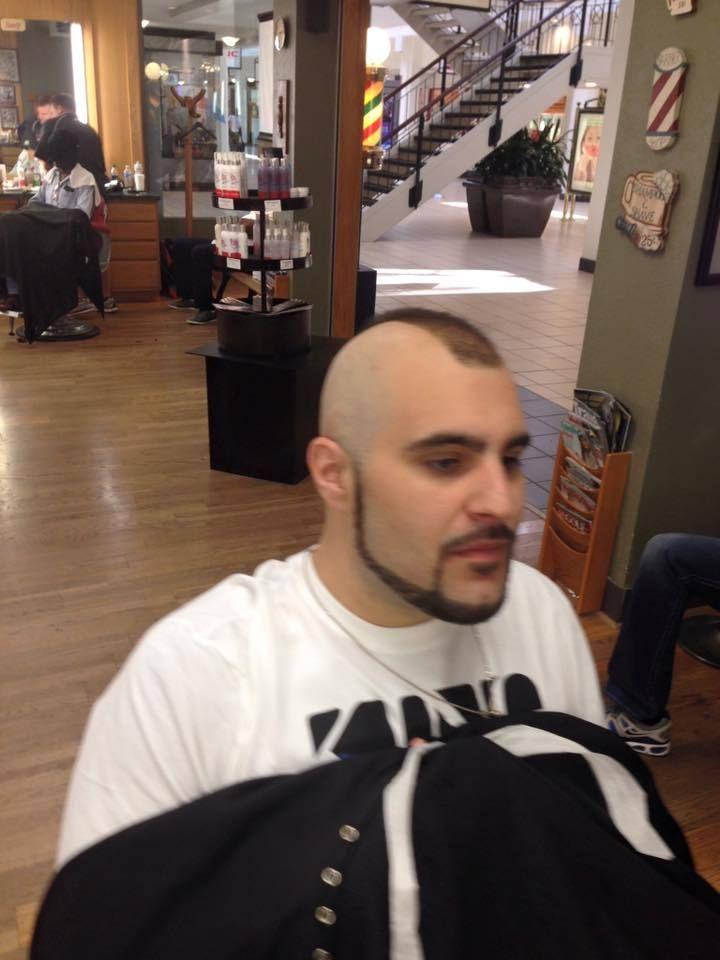 Only A Strong Man Can Wear A Mohawk Mohawk Pinterest Hair Cuts