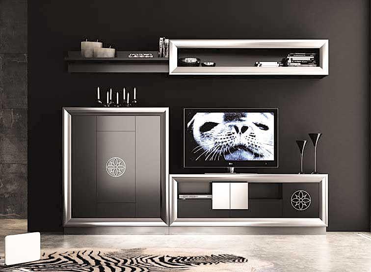 Salon moderno ainhoa mobiliario dise o el sal n for Muebles de salon modernos