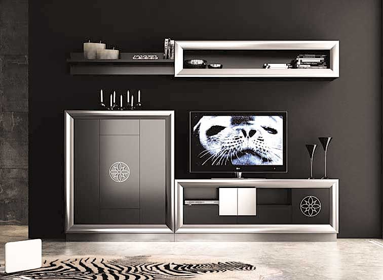 salon moderno ainhoa - Muebles Salon Diseo