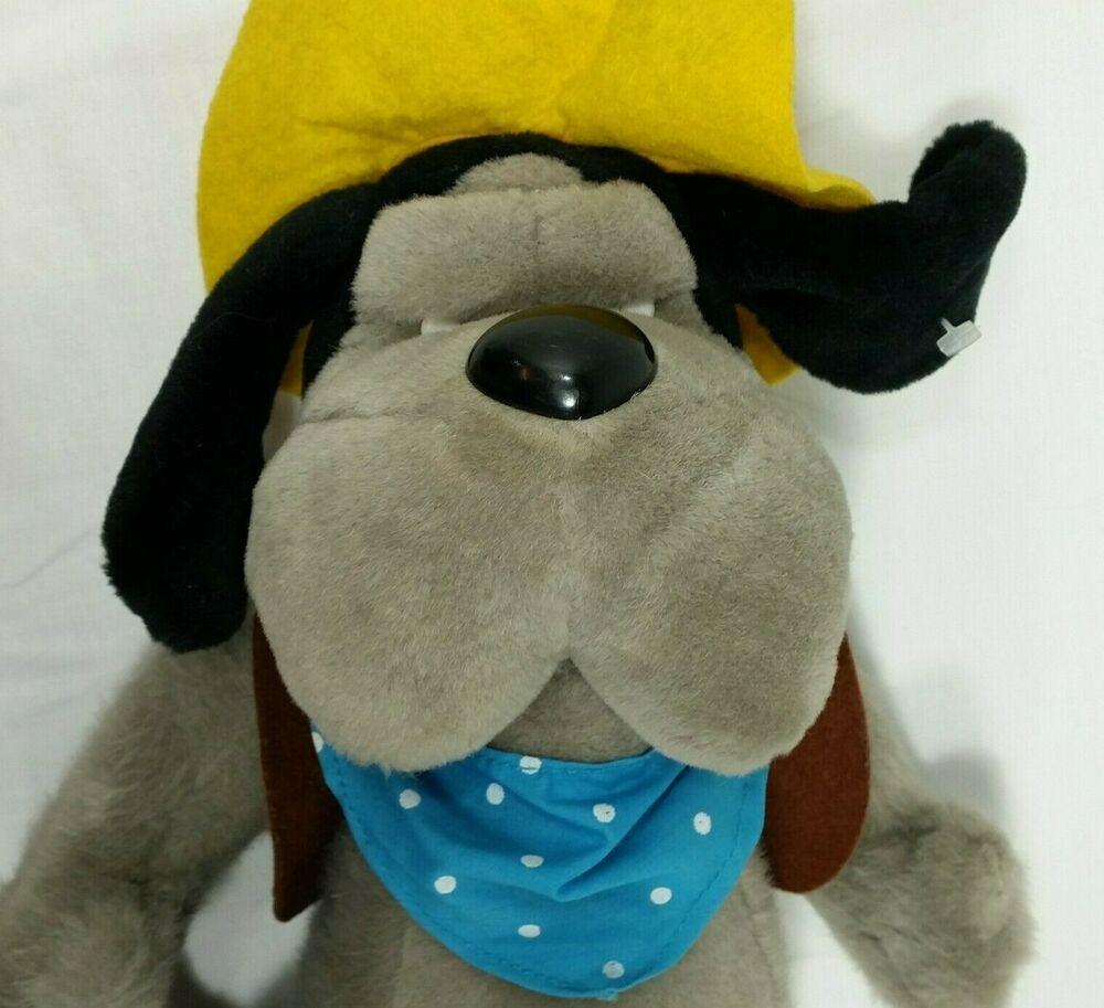 Wylie Burp Plush Toy Fievel Goes West Great Dane Dog Universal