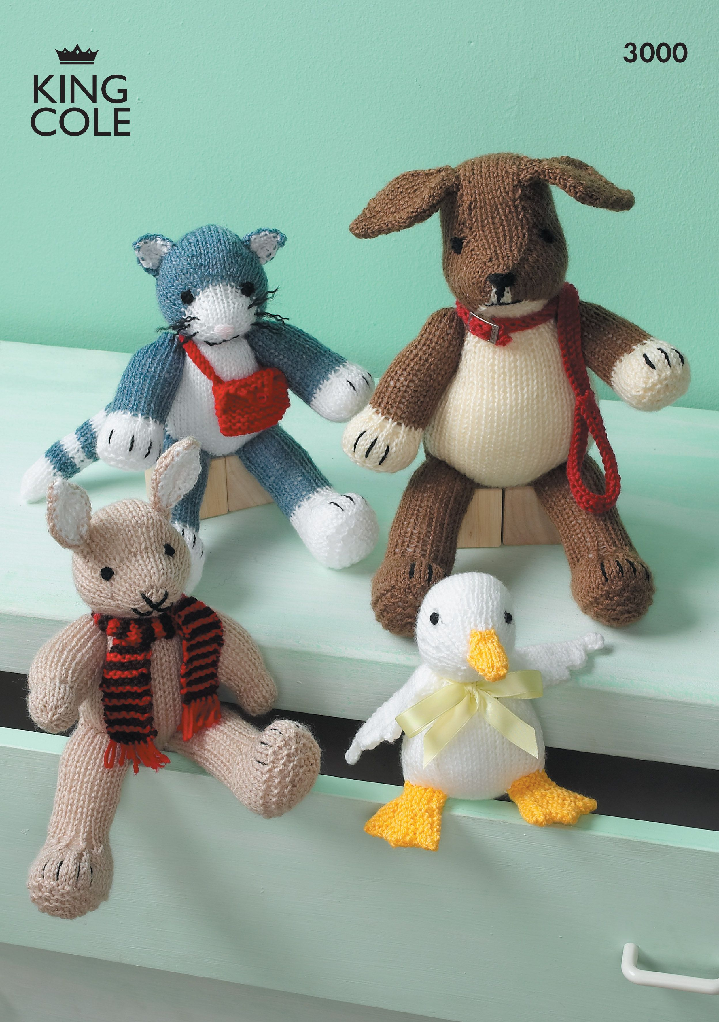 Knitted Toys - King Cole | Toys and Novelties | Pinterest | Toy ...