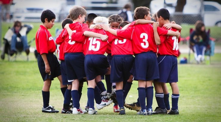 Cultivating a winning mentality in youth soccer youth