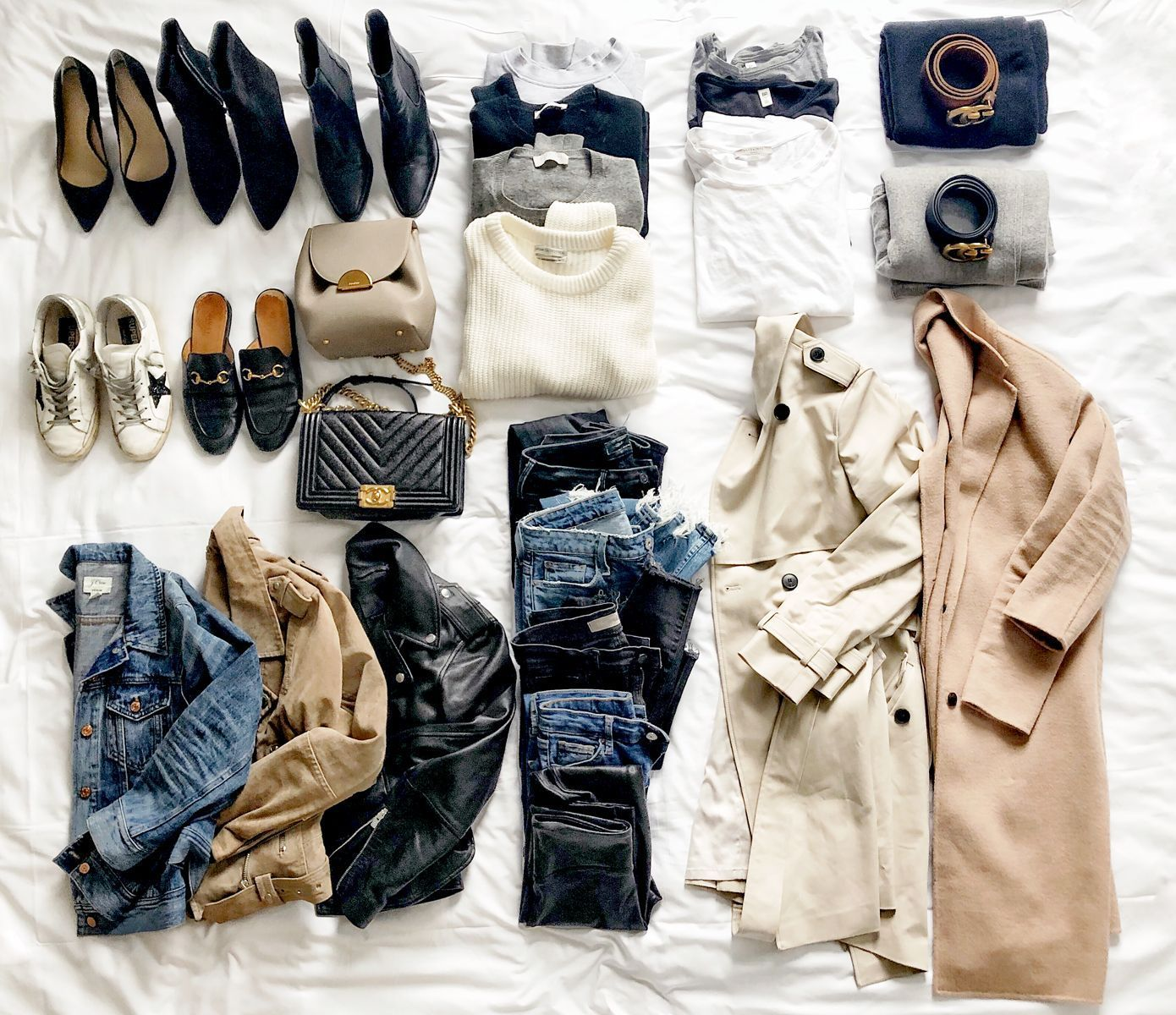 Packing My Capsule Wardrobe for a Long Weekend Vacation | Fashion Jackson packen sommer