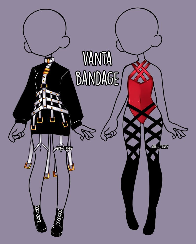 Vanta Bandage Outfit Adopt Close By Miss Trinity On Deviantart Manga Clothes Drawing Anime Clothes Fashion Design Drawings