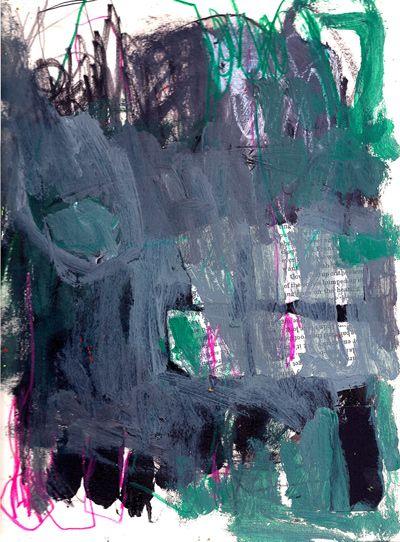 Marie Bortolotto Abstract painting