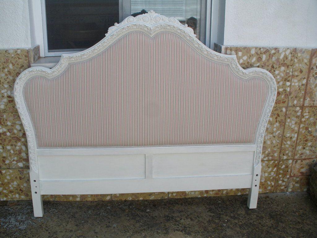 Cabecero antiguo renovado para la casa pinterest - Cabeceros de cama antiguos ...