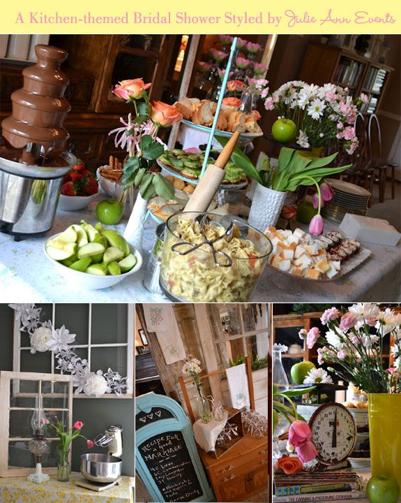 kitchen bridal shower ideas kitchen themed bridal shower ideas information 19198