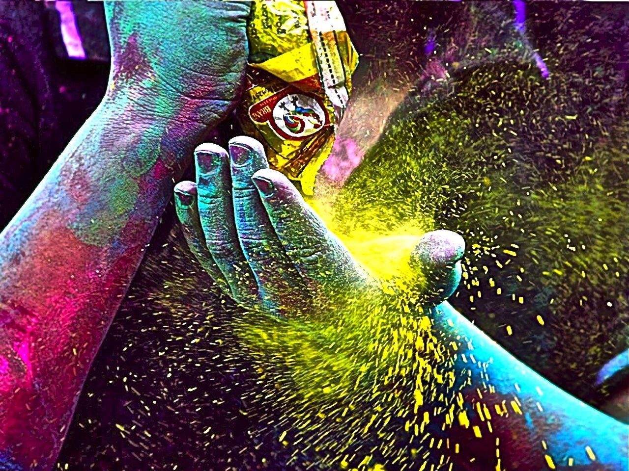 Holi Festival,India Photograph by Kalpana Chatterjee | Colors ...