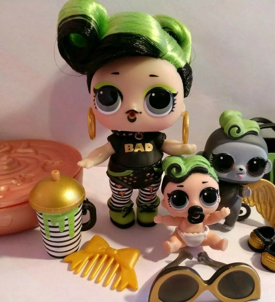 Lol Surprise Dolls Bhaddie Big Lil Pet Ultra Rare Lot Of 3 Fast Shipping Affilink Lolsurprise Loldolls Lol Dolls Doll Family Cute Toys