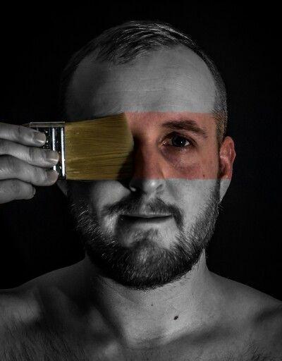 Cteative self portrait
