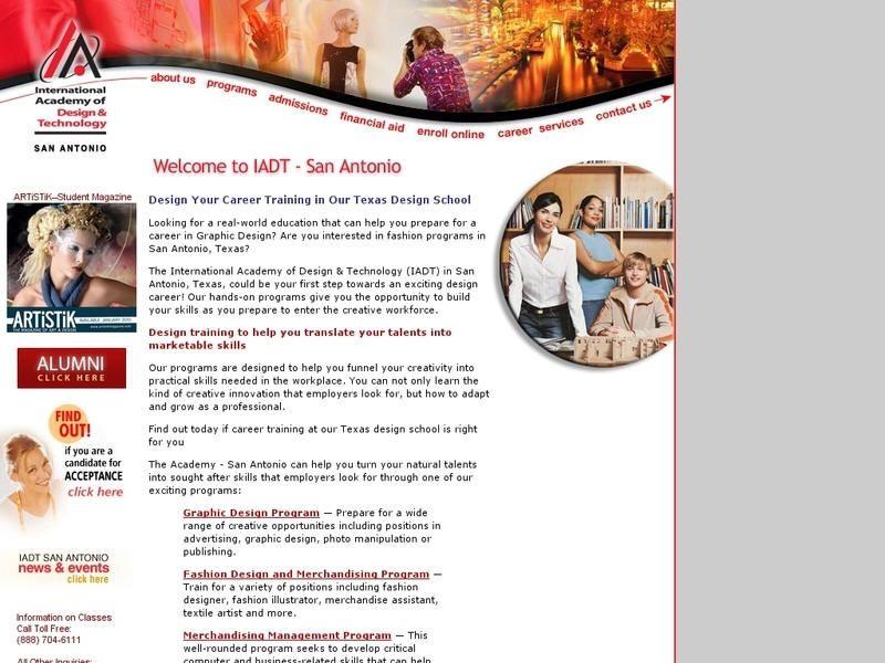 International Academy Of Design And Technology San Antonio Career Training University List Academy