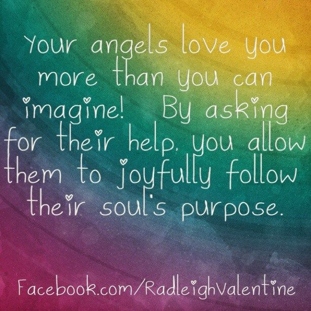 Your Angels Love You More Than You Can Imagine Radleigh Valentine