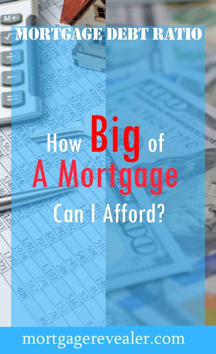 How big of a mortgage can i afford mortgage debt debt