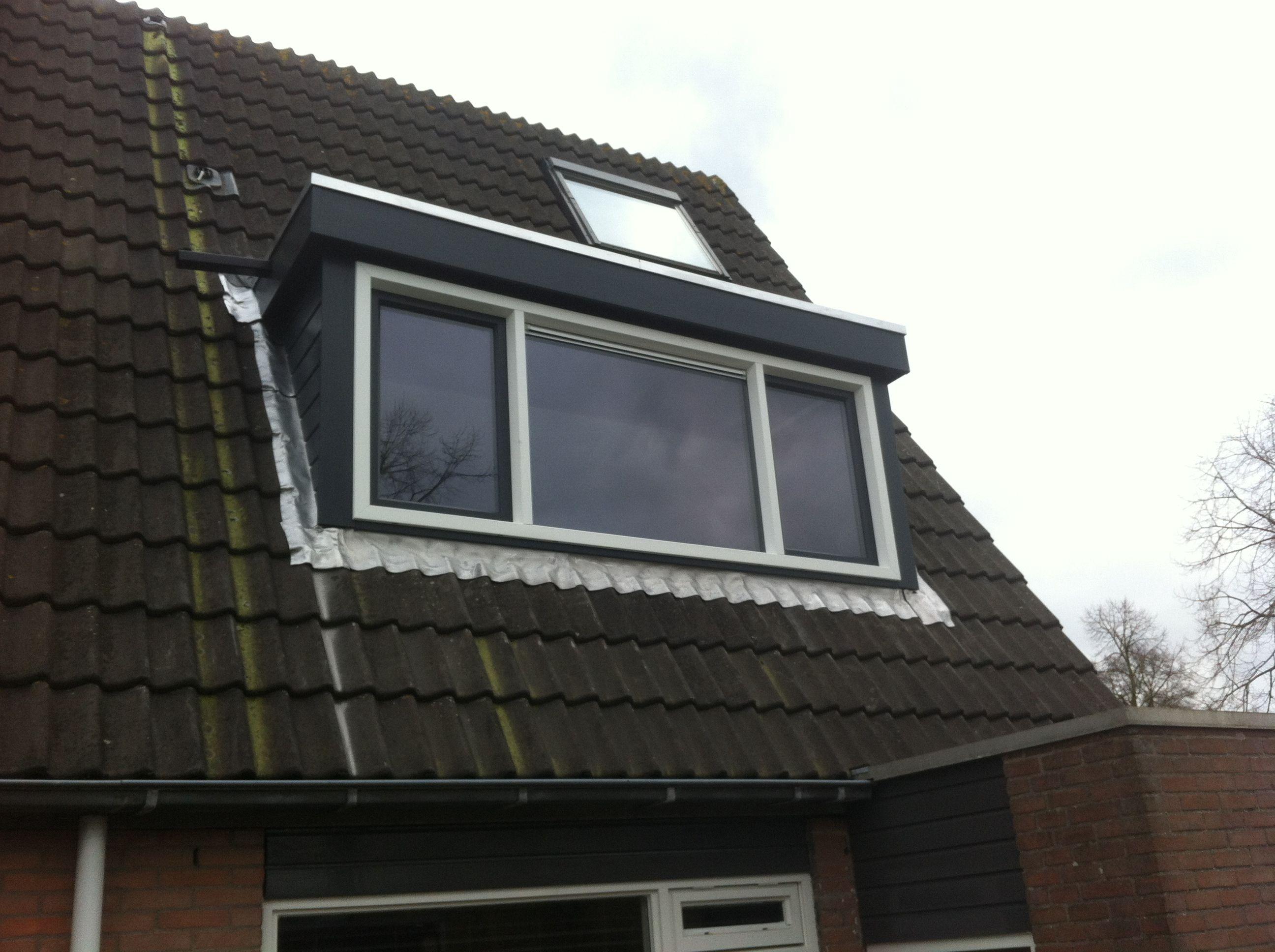 Nieuwe dakkapel in Nieuwegein. Zolder en Dakkapellen
