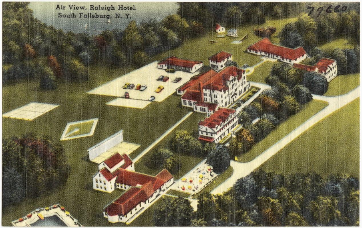 Air View Raleigh Hotel South Fallsburg N Y
