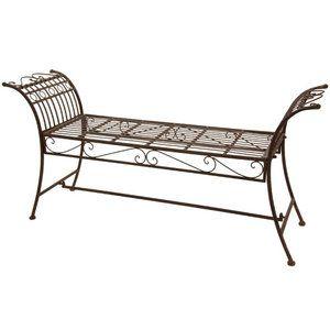 Patio Garden Garden Bench Metal Outdoor Furniture Oriental