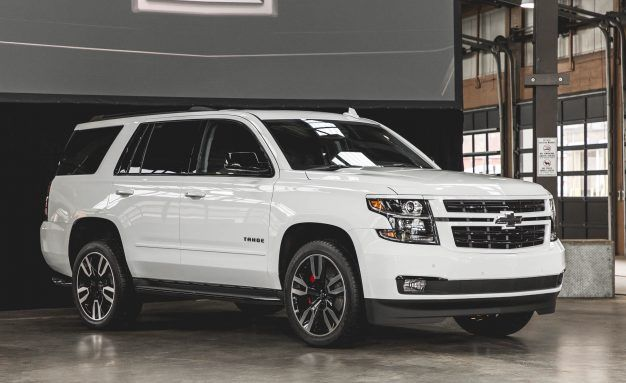Rally Sport Trucks Chevrolet Unveils 6 2 Liter Tahoe And